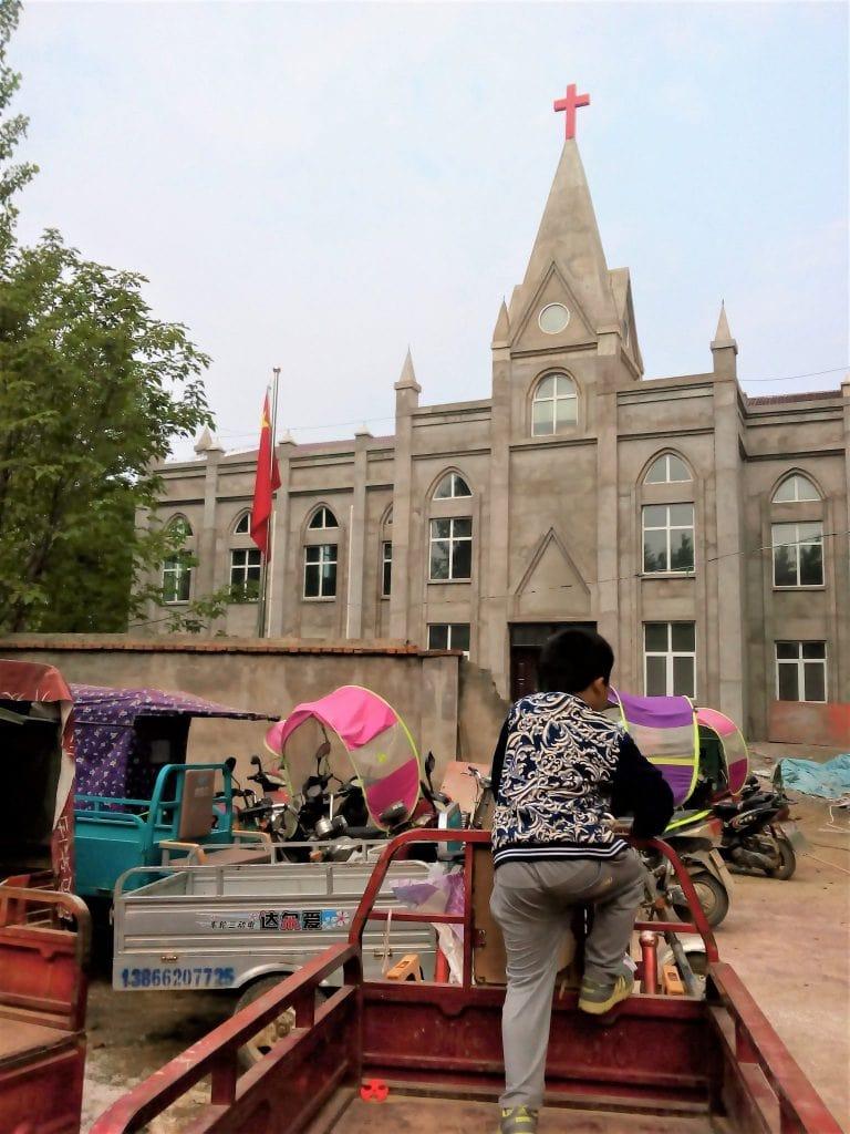 Three-Self Church in Zhuzhai Town