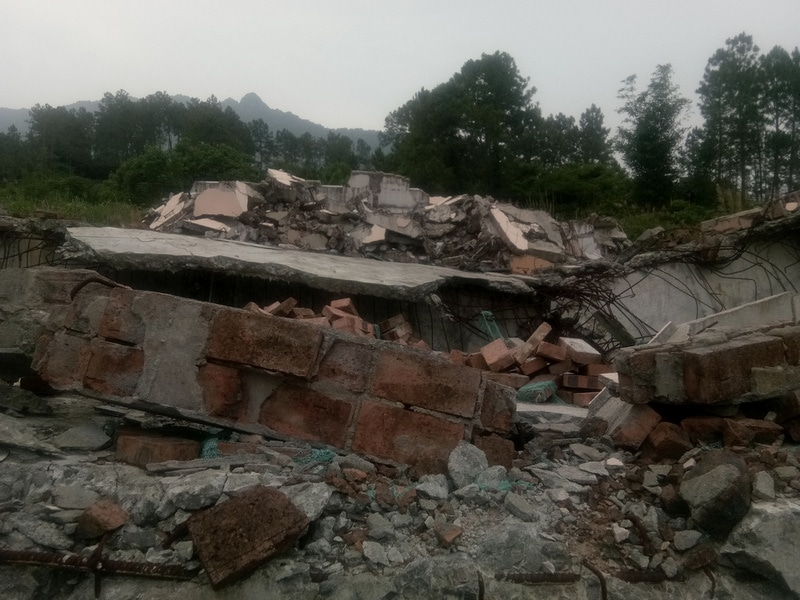 Three Self Church Demolished in Fujian_12