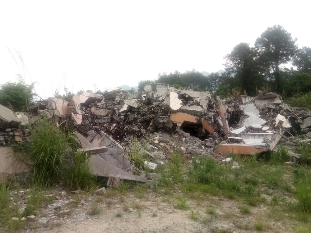 Three Self Church Demolished in Fujian_2