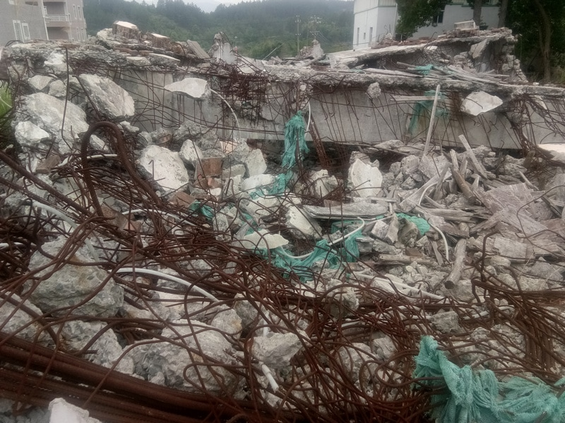 Three Self Church Demolished in Fujian_4