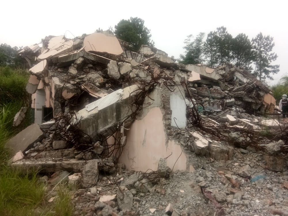 Three Self Church Demolished in Fujian_5