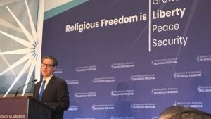 Advance Religious Freedom conference