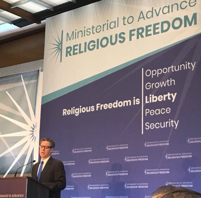 Advance Religious Freedom