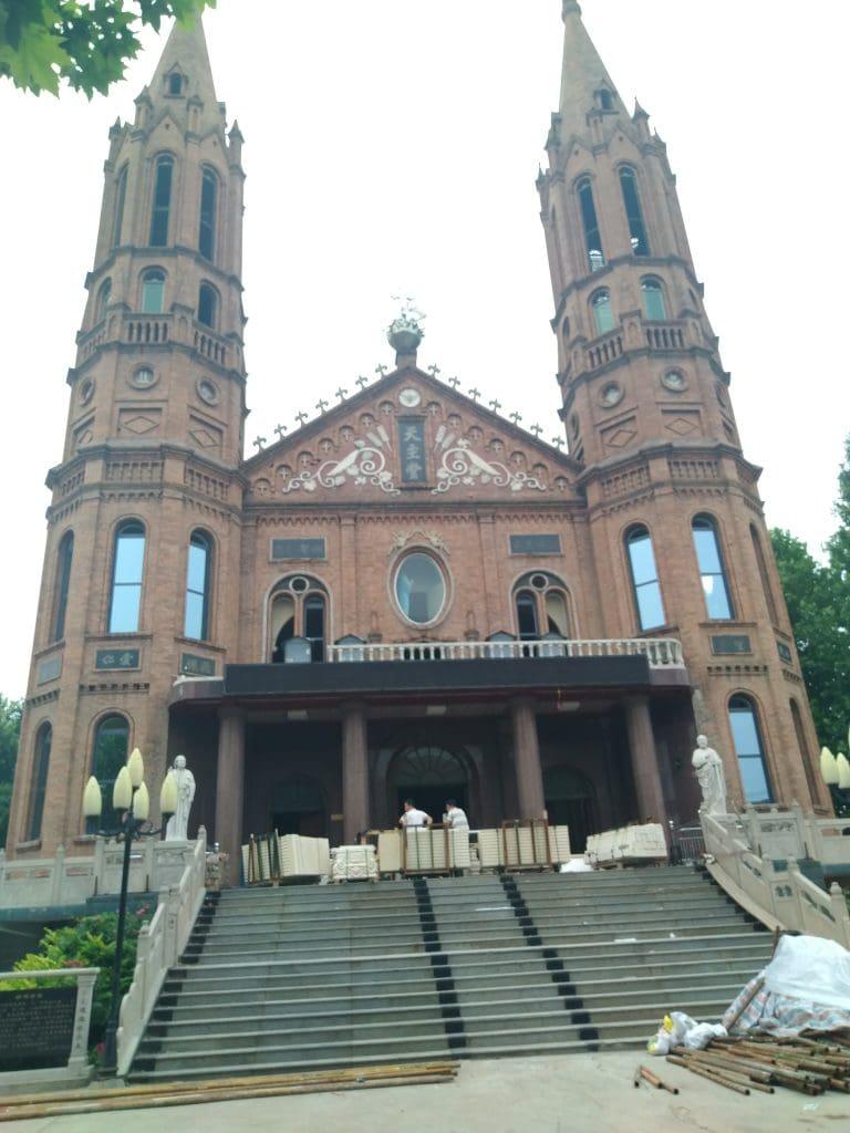 Catholic Cathedral in Wuqiu Village, Jinzhou City