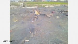 The ruins of Guangxiao
