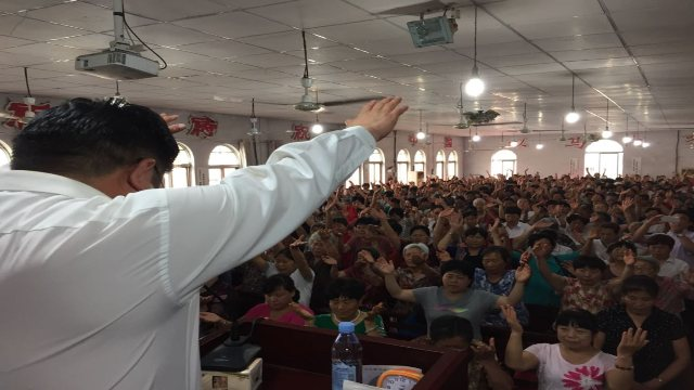 Three Self church in Shangqiu