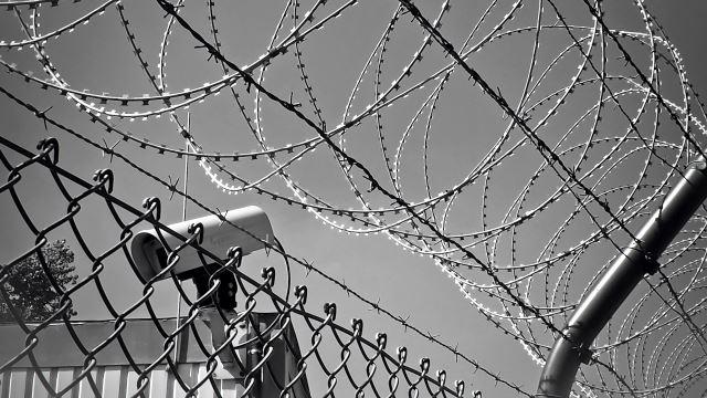 prison and camera