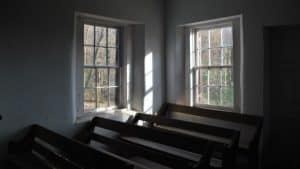 Closed church