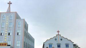 The original appearance of the Xiaosijia Church of Jesus in Taizhou city's Jiaojiang district.