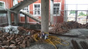 Lincuo Village Three-Self Church in Fuqing city forced to cease construction