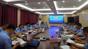 Police meeting (taken from internet)