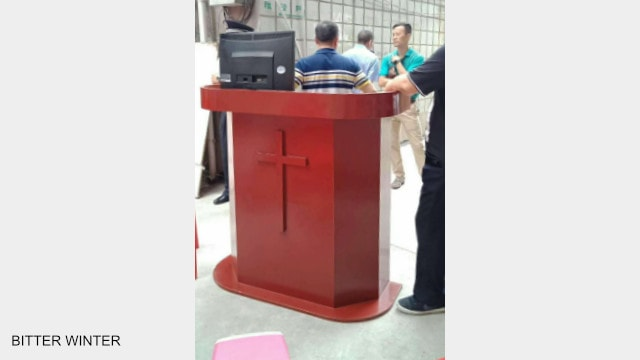 Church items are seized