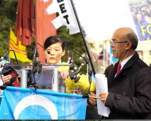 Geneva, demonstration for human rights in China