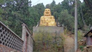 Giant statue of Maitreya Buddha (provided by an inside source)