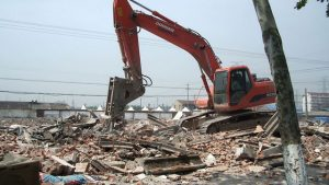 A Temple Forcibly Demolished Despite Residents' Protests
