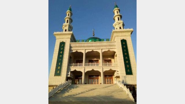 The original appearance of Wujiawan Grand Mosque