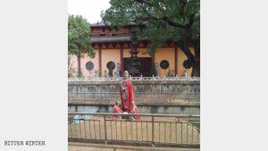 The original exterior of Gaoshan Temple