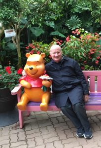 Massimo Introvigne and Winnie the Pooh