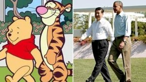 xi jinping and obama like pooh and tiger