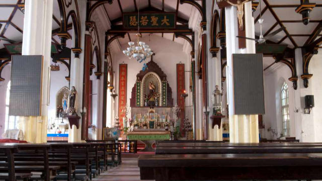 A Chinese Catholic church