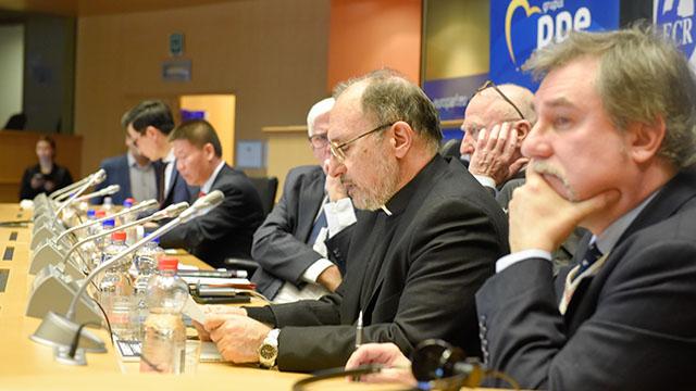 Marco respinti Seminar in Brussel