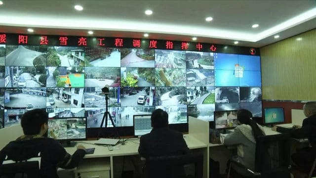 Monitoring system of Project Dazzling Snow