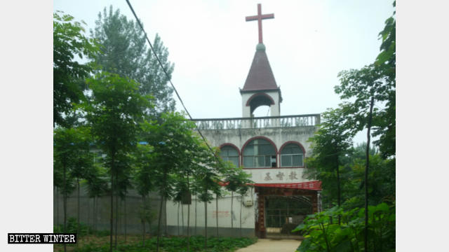 The church in Youzhai village, Xuchang city