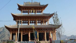 The newlyconstructed Jade Emperor Temple