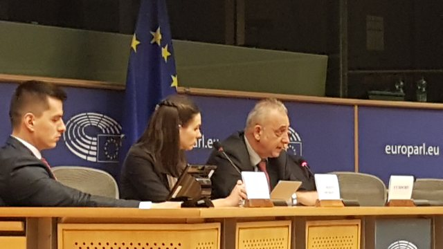 Mep Butikofer during the seminar on Political values in Europe-China relations