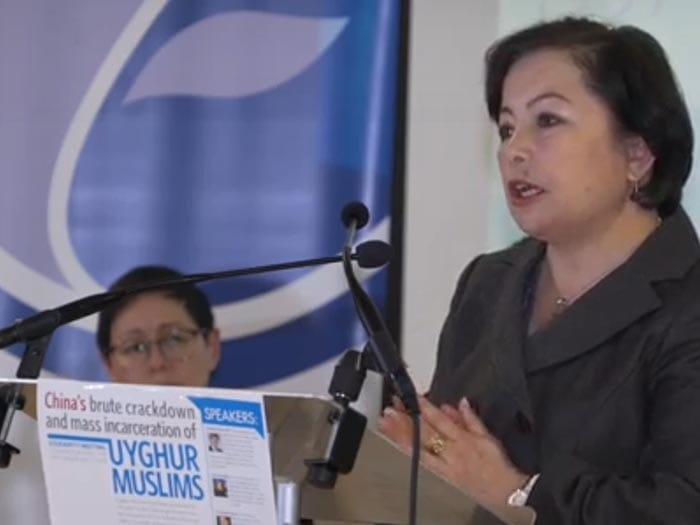 Rahime Mahmut London based Uyghur Muslim