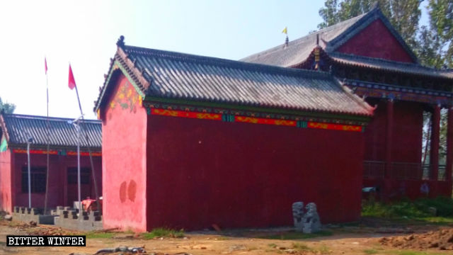 The original appearance of Hongshan Temple