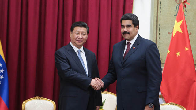 maduro and xi jinping