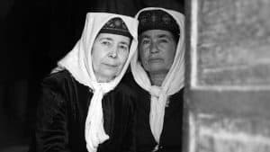 two Uyghurs women in Xinjiang