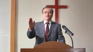 A church preacher