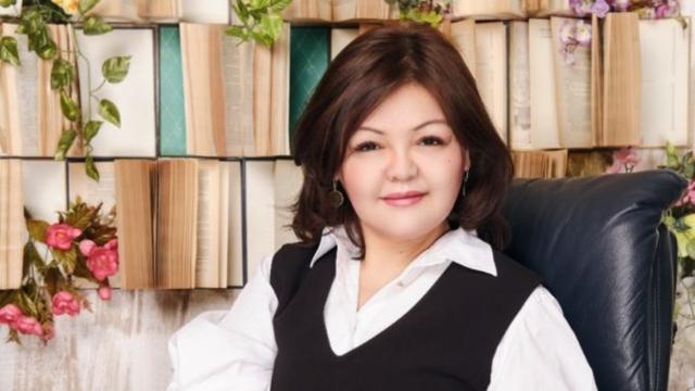 Aiman Umarova close-up