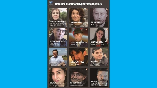 Images og Uyghurs intellectuals