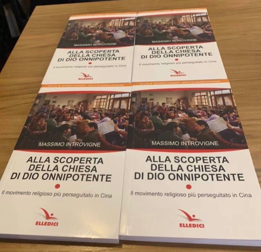 Massimo Introvigne, Alla scoperta della Chiesa di Dio onnipotente, book cover