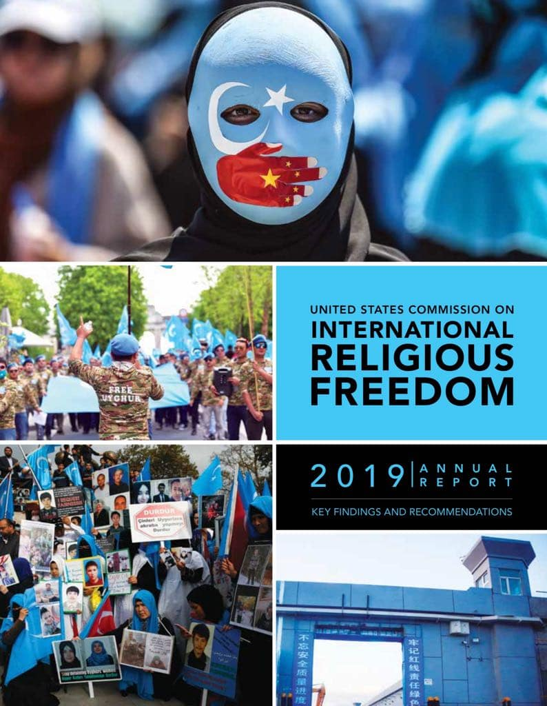 International Religious Freedom 2019 report, cover