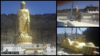 More Than 1,200 Buddhist Statues Removed