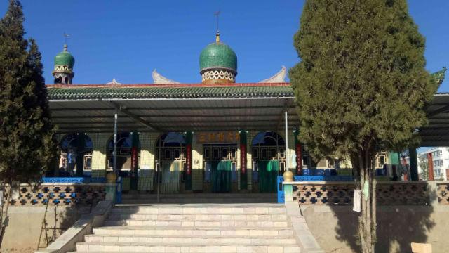 The original appearance of Beida Mosque.