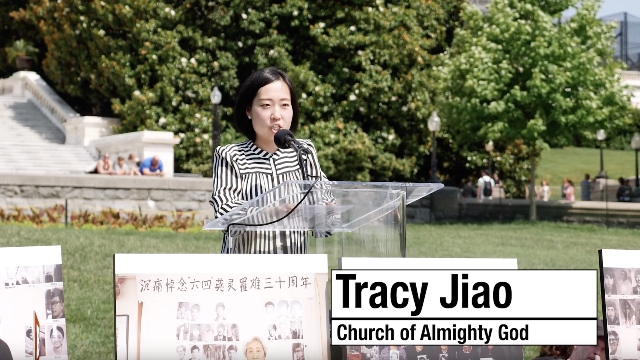 Tracy Jiao in Washington