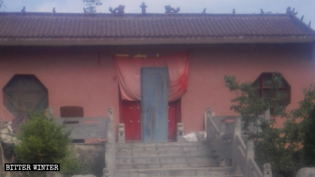 Jade Emperor Temple was sealed off