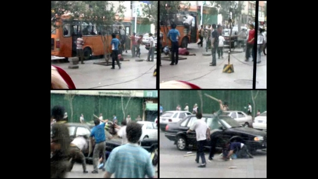 Cellphone screenshots of the Urumchi Massacre - Xinjiang 2009