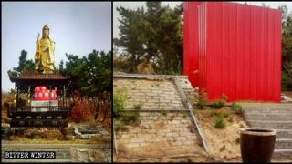 Buddhist Temples Hit Hard in Shandong