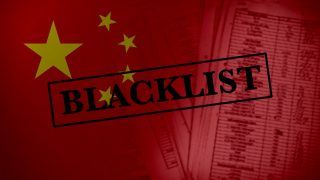 What It Means to Be Blacklisted by China's Regime