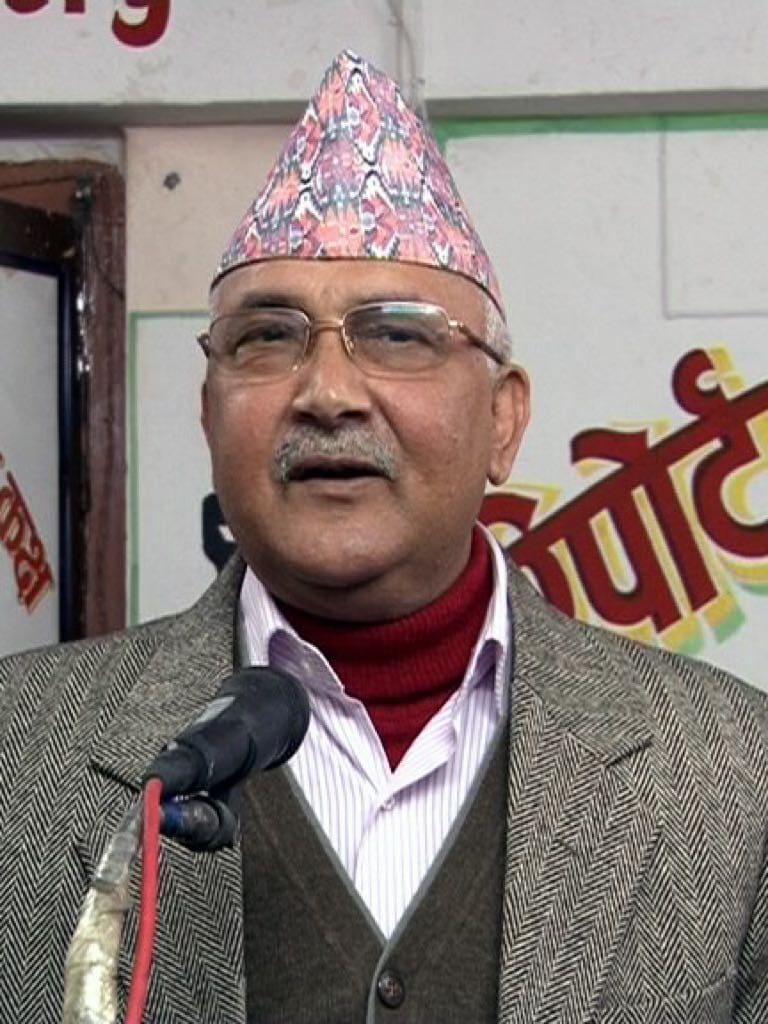 Nepal's Prime Minister Sharma Oli