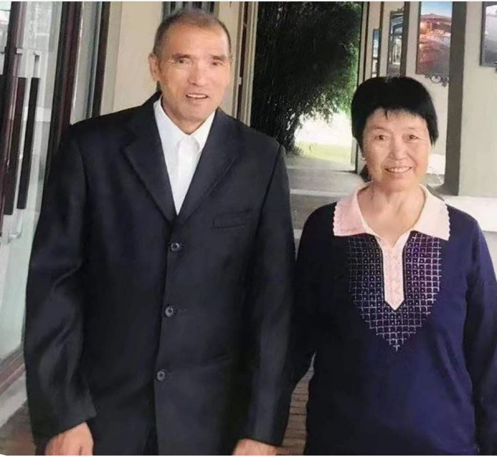 Qian Xude and his wife Huangfu Hongying, the couple at the center of the Shenzhen incident.