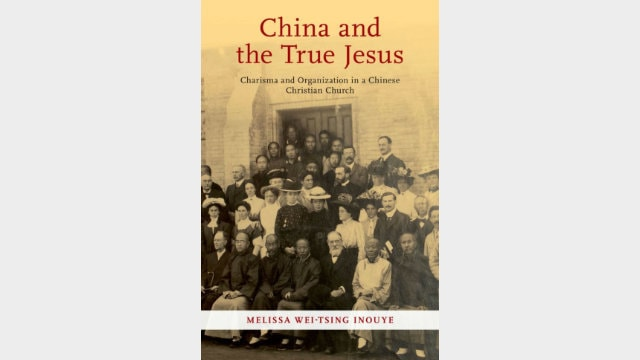 China and the true Jesus, book cover