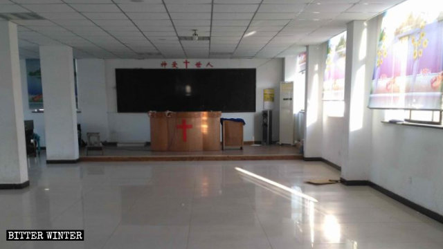 A house church meeting venue at Wuyuan County