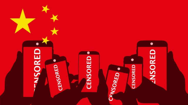 Cellphone censorship in China
